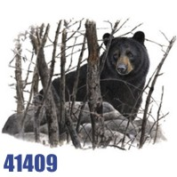 Click to order printed t-shirt 41409... Black Bear