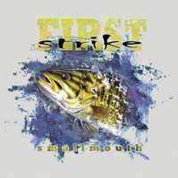 Click to order printed t-shirt 41468... Smallmouth Bass First Strike
