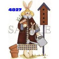 Click to order printed t-shirt 4827... Herb Bunny