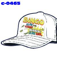 Click to order printed t-shirt c-0465... Bingo is my Game Winning is my Aim. (Cap Print)