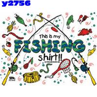 Click to order printed t-shirt y2756... This is my Fishing shirt!! (Youth Size Print)