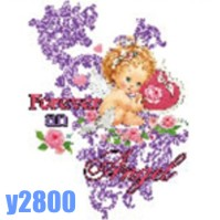 Click to order printed t-shirt y2800... Forever Angel (Youth Size Print)